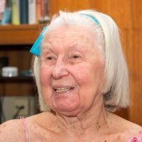 Elfriede Sebesta, Kundin der Mobilen Hauskrankenpflege