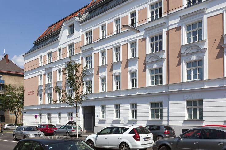 Historische Fassade des Lobmeyrhofs  (Bild: FSW )