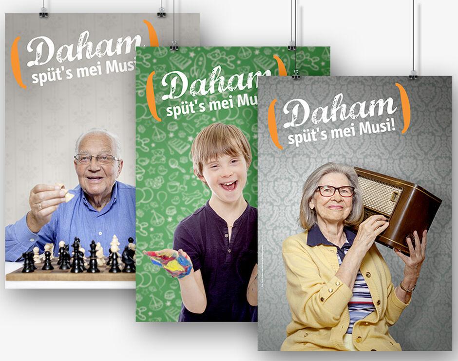 """Die"""" Daham""""-Kampagne 2016"""